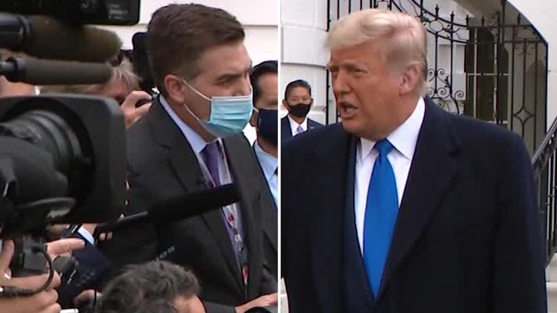 CNN reporter asks Trump: Did you blow it on Covid-19?