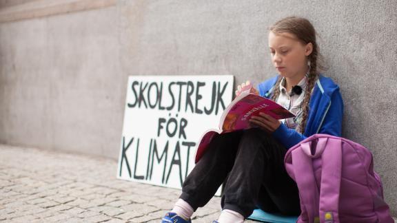 Greta Thunberg in the documentary 'I Am Greta' (Courtesy of Hulu)