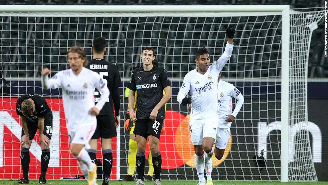 Last-minute drama as Real Madrid avoids yet another defeat in the Champions League