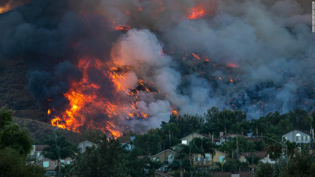 Nearly 70,000 people under mandatory evacuation orders as two new wildfires in Southern California spread rapidly - CNN