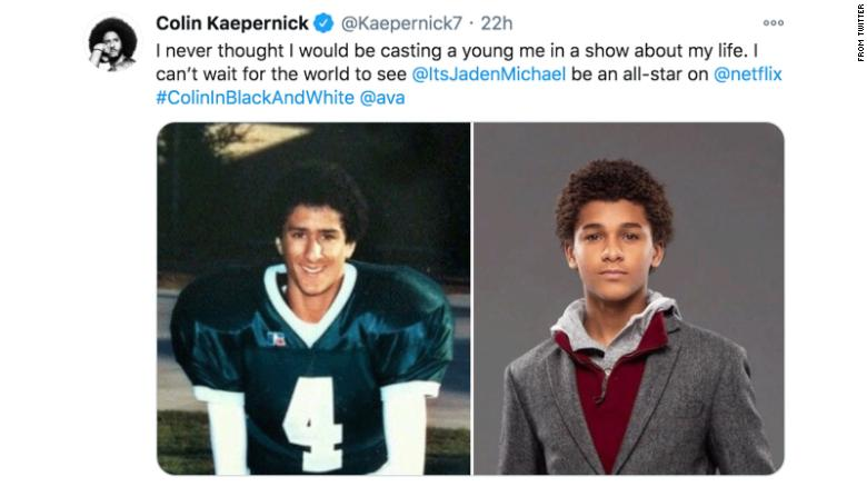 'Colin in Black & White' finds its young Kaepernick