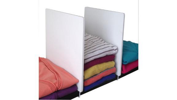 Rebrilliant Closet Shelf Divider, 2-Pack
