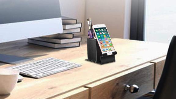 Fintie Vegan Leather Phone Stand Desktop Organizer