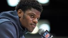"""Dr. Judson Jeffries, a professor of African American Studies at the Ohio State University, says Lamar Jackson's refusal to participate in run drills was """"huge"""" for Black quarterbacks."""
