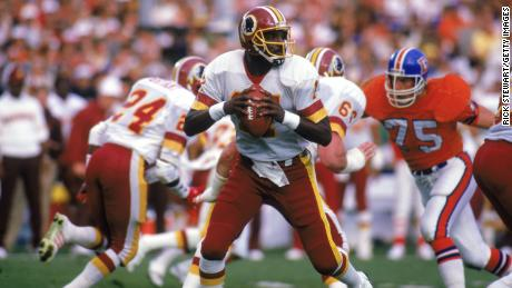 Doug Williams was the first Black quarterback to lead his team to Super Bowl glory, doing so in the 1987 season.