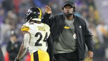 Mike Tomlin (right) is the longest serving Black head coach currently working in the NFL, having taken over as Pittsburgh Steelers head coach in 2007.