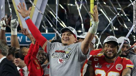 Mahomes is the highest-paid player in the NFL, having signed a contract extension during the off-season with the Kansas City Chiefs reportedly worth nearly half a billion dollars.