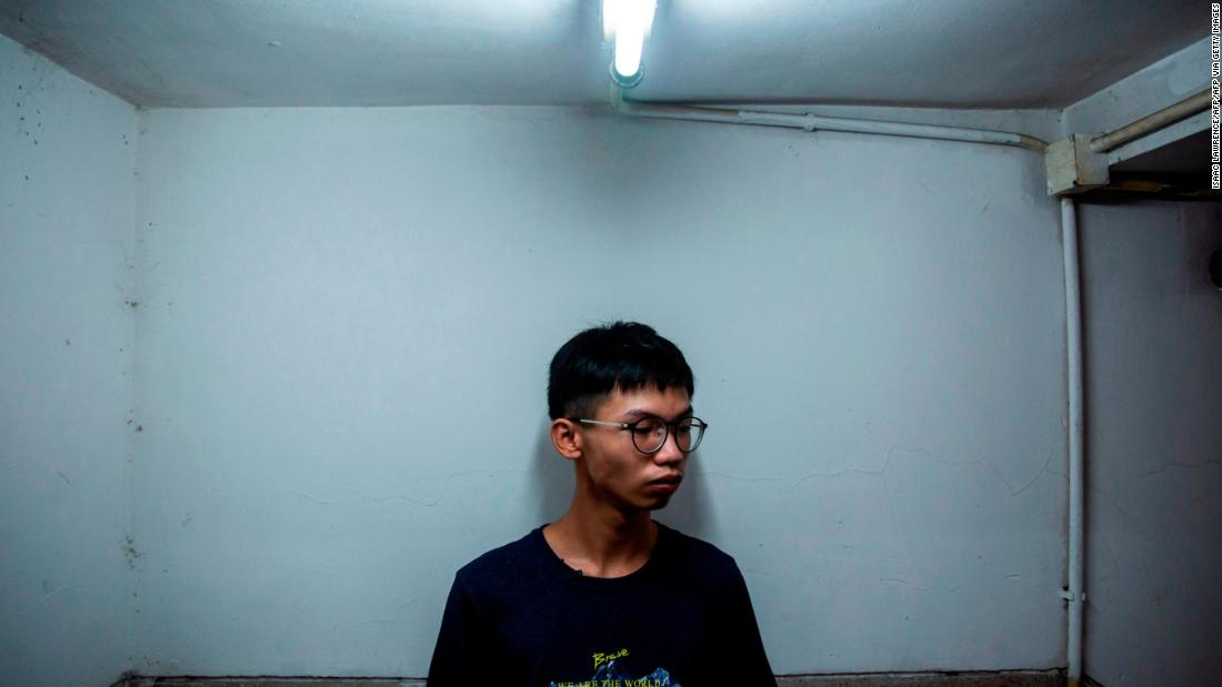 Hong Kong teenage activist detained after reportedly planning to claim asylum at US consulate