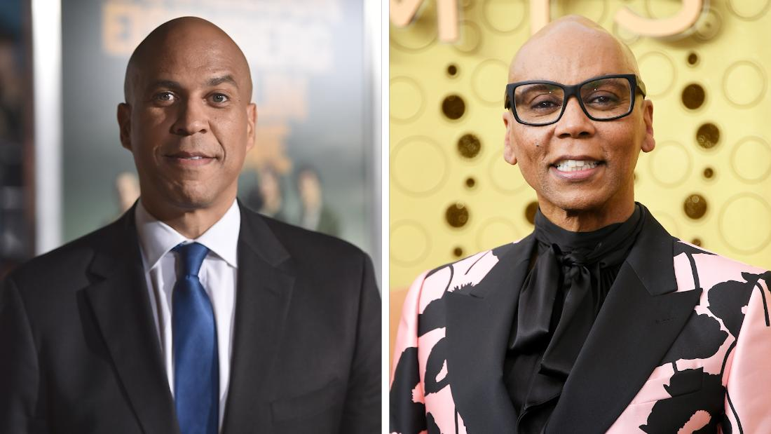 See RuPaul and Cory Booker react to finding out they're cousins