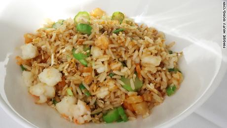 Wok hei perfect egg fried rice The Chairman