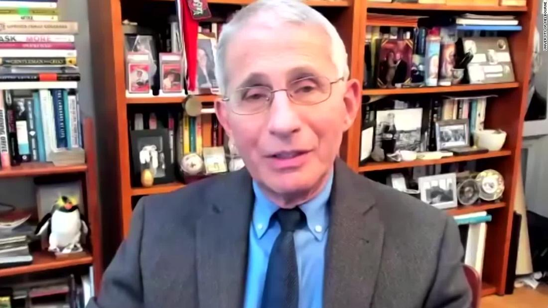 Dr. Fauci: US may not be back to normal until 2022
