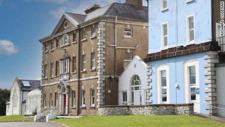 La maison mère et bébé de Bessborough dans le sud-ouest du comté de Cork, en Irlande, vue en 2018.