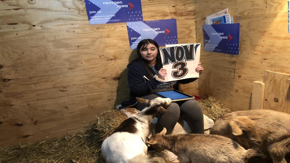 Using goats to lure young people to vote? Not a baa-d idea