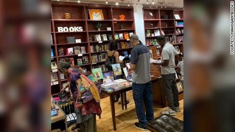 MahoghanyBooks' owners says they sold 100,000 books within the first 45 days after George Floyd's death in May.