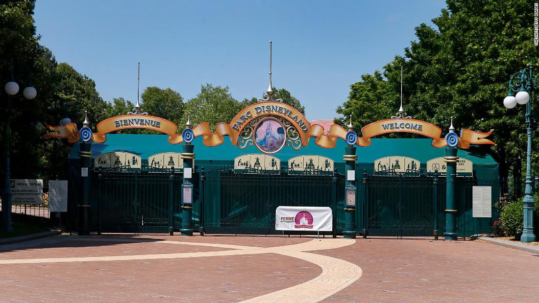 Disneyland Paris shuts down again as France enters lockdown – CNN