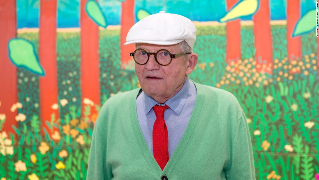 David Hockney's most important landscape painting could sell for upwards of $35 million next month