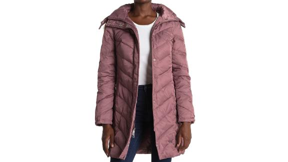 Kenneth Cole New York Faux Fur-Trimmed Quilted Down Puffer