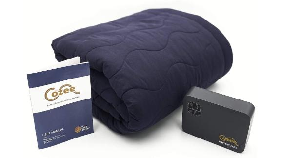 The Cozee Battery-Powered Heated Blanket