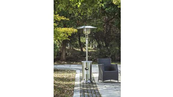 Garden Treasures Stainless Steel Standing Liquid Propane Patio Heater