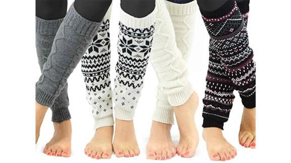 TeeHee Leg Warmers, Set of 4