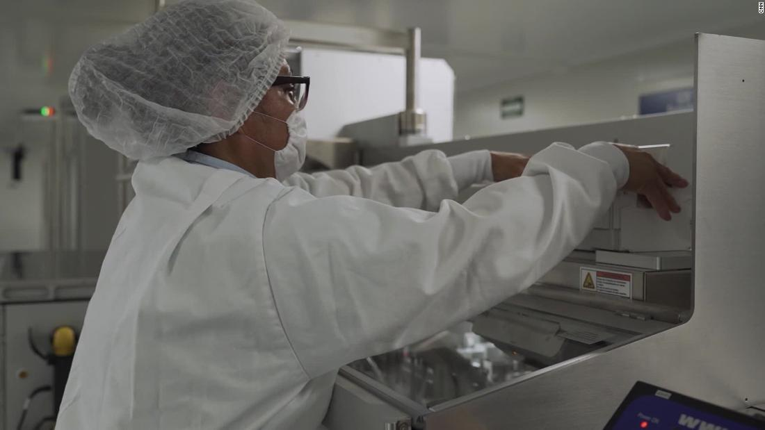 Inside the Mexican factory preparing to produce Covid-19 vaccine