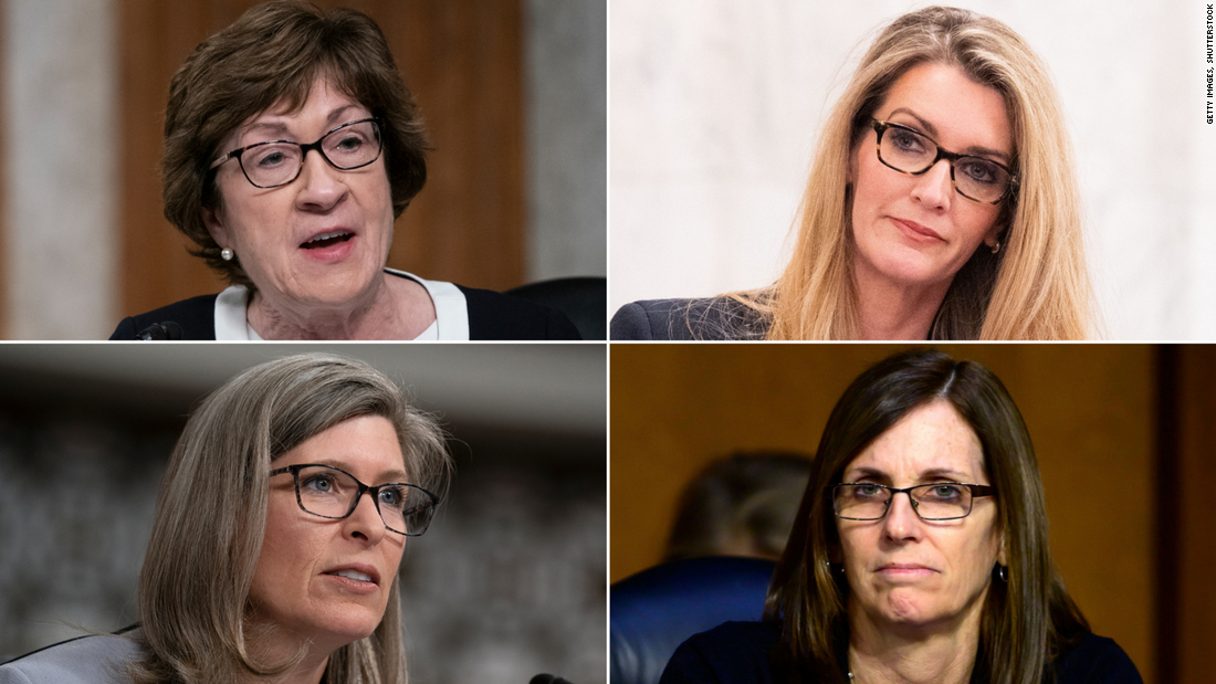 Opinion: Republican female Senators are facing a crisis of their own making