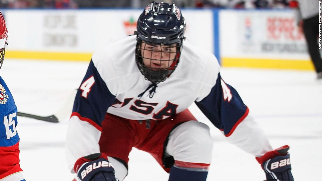 NHL team severs ties with top draft pick who admitted to bullying Black classmate