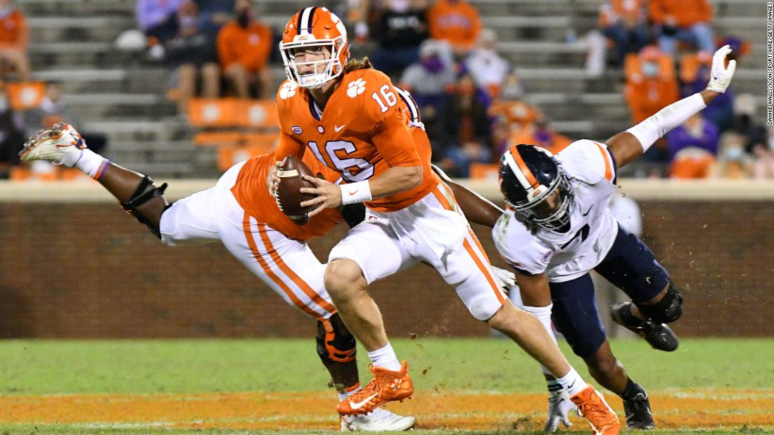 US college football star tests positive for Covid-19