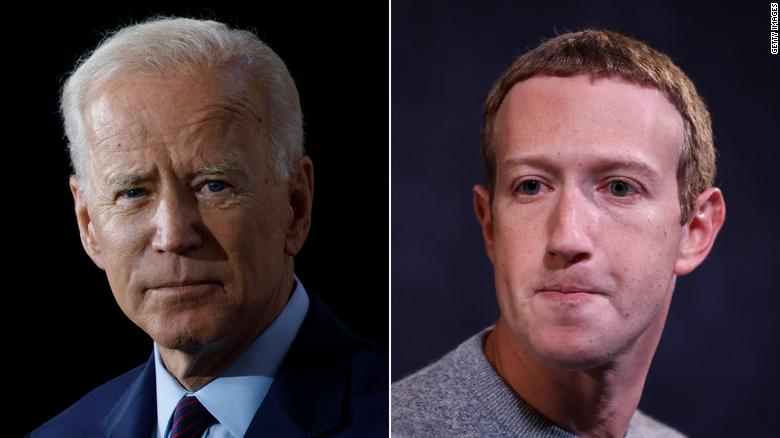 Biden unfriends Facebook, betrays Covid frustration