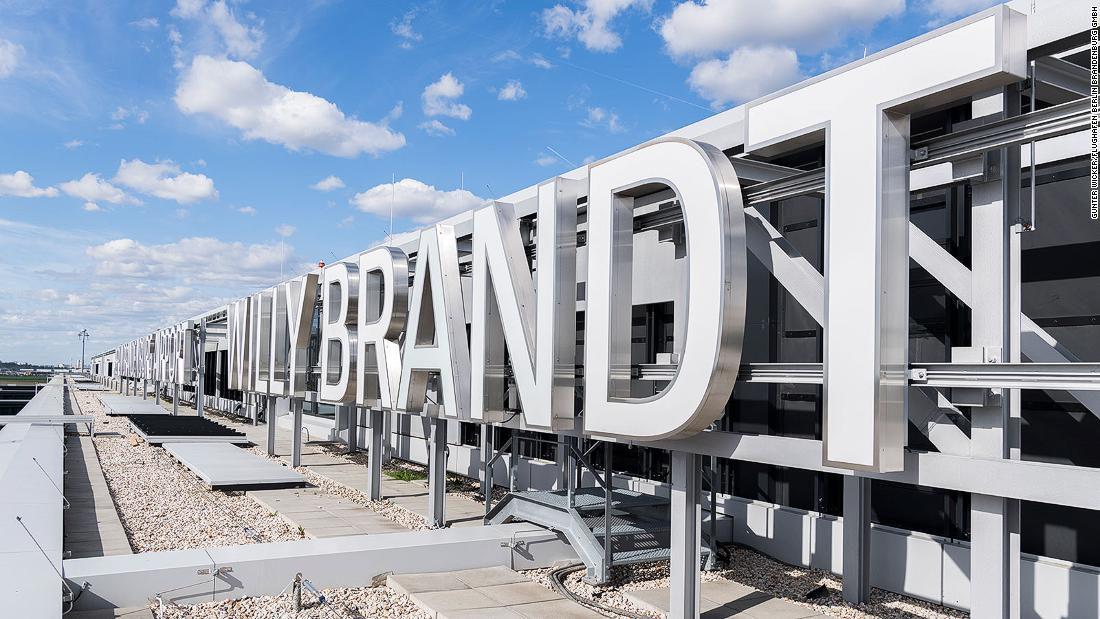 Ten years late, Berlin's Brandenburg Airport finally opens (during a pandemic)