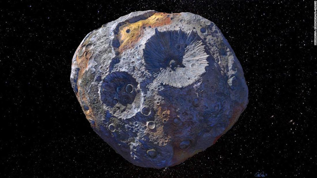 There's an asteroid in space worth $10,000 quadrillion - CNN Video