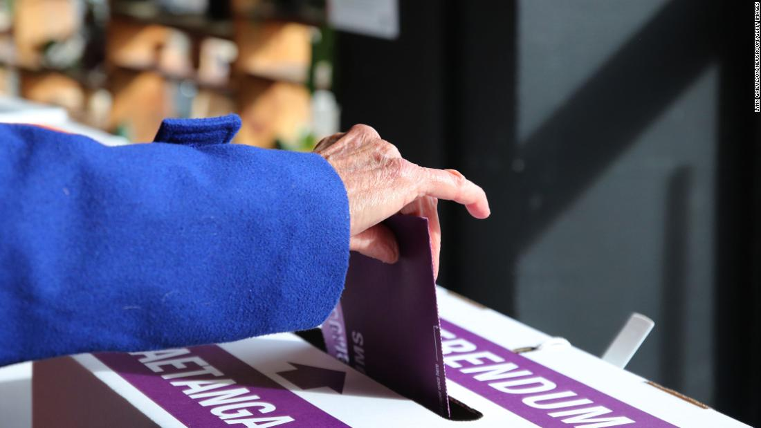 New Zealand votes to legalize euthanasia for terminally ill patients