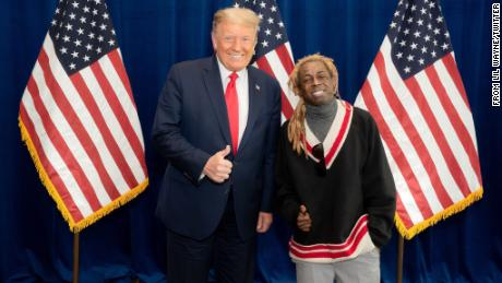 Lil Wayne met with Trump and praised the President's plan for black Americans