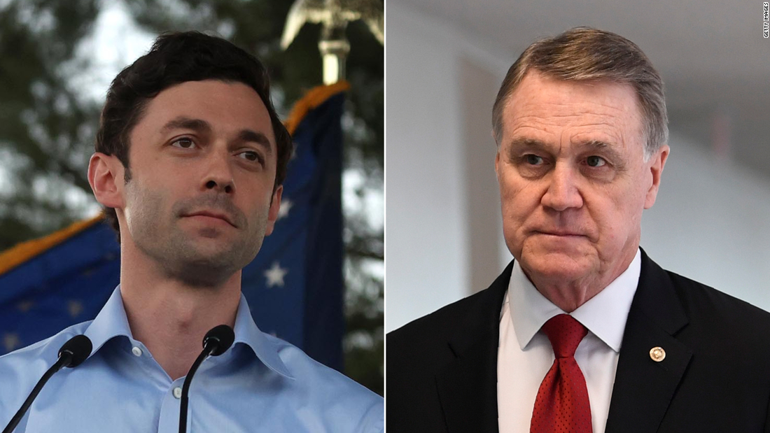Republicans on the run in Georgia with two Senate seats within Democratic reach – CNN