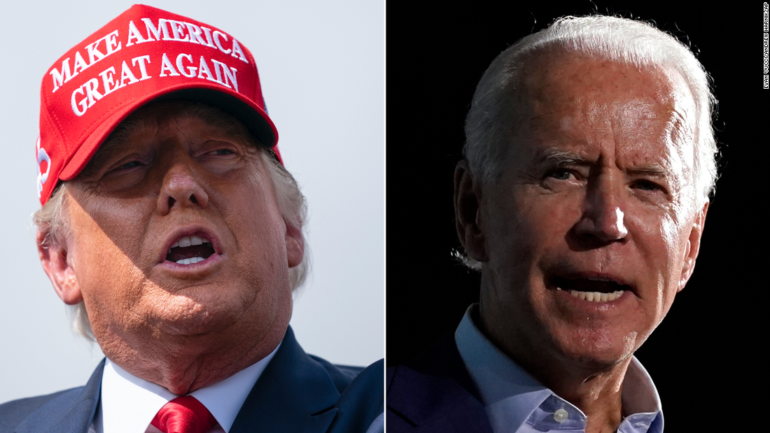 Trump and Biden take aim at each other in final sprint