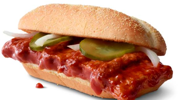 The McRib comes back on December 2.