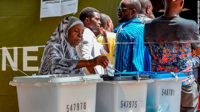 US cites 'credible allegations' of fraud in Tanzania election