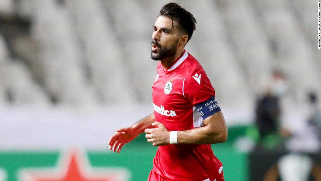 Europa League delivers another wonder goal as Jordi Gomez scores from inside his own half