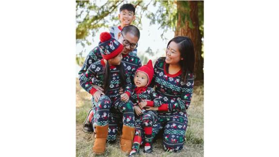 لباس خواب خانوادگی تطبیق گنوم