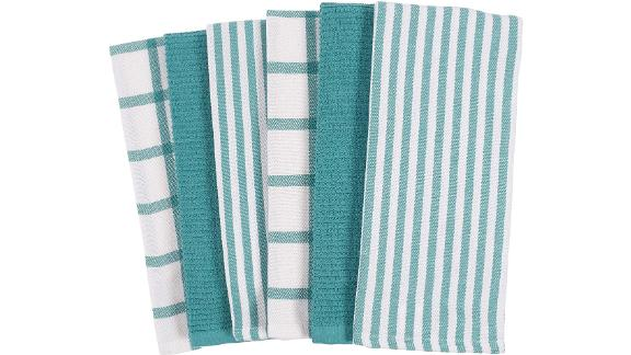 KAF Home Mixed Flat & Terry Kitchen Towels