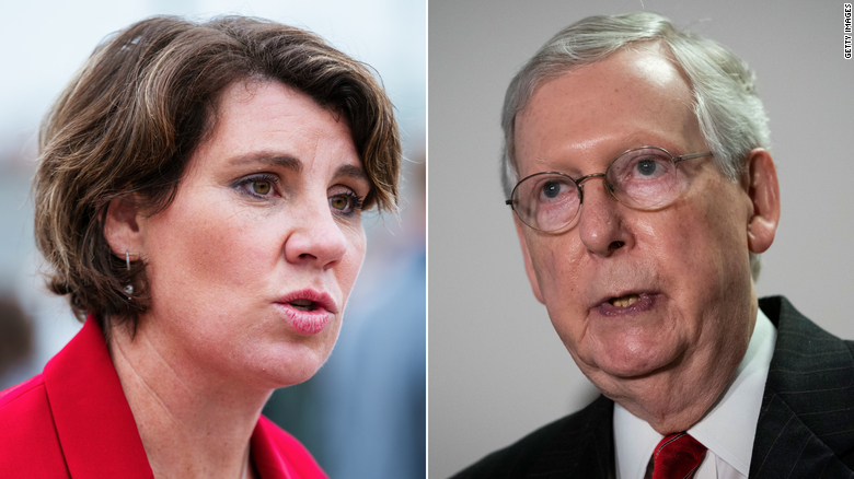 Mitch McConnell wins reelection in Kentucky, defeating Democrat Amy McGrath