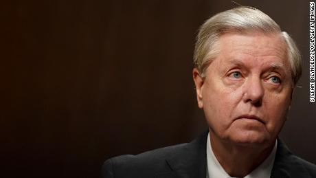 Lindsey Graham is playing a very odd role in the Senate impeachment trial