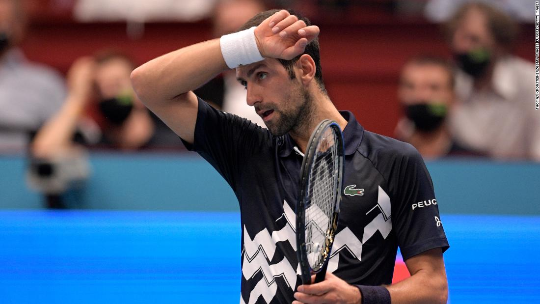 Novak Djokovic suffers joint heaviest defeat of his career against 'lucky loser' Lorenzo Sonego