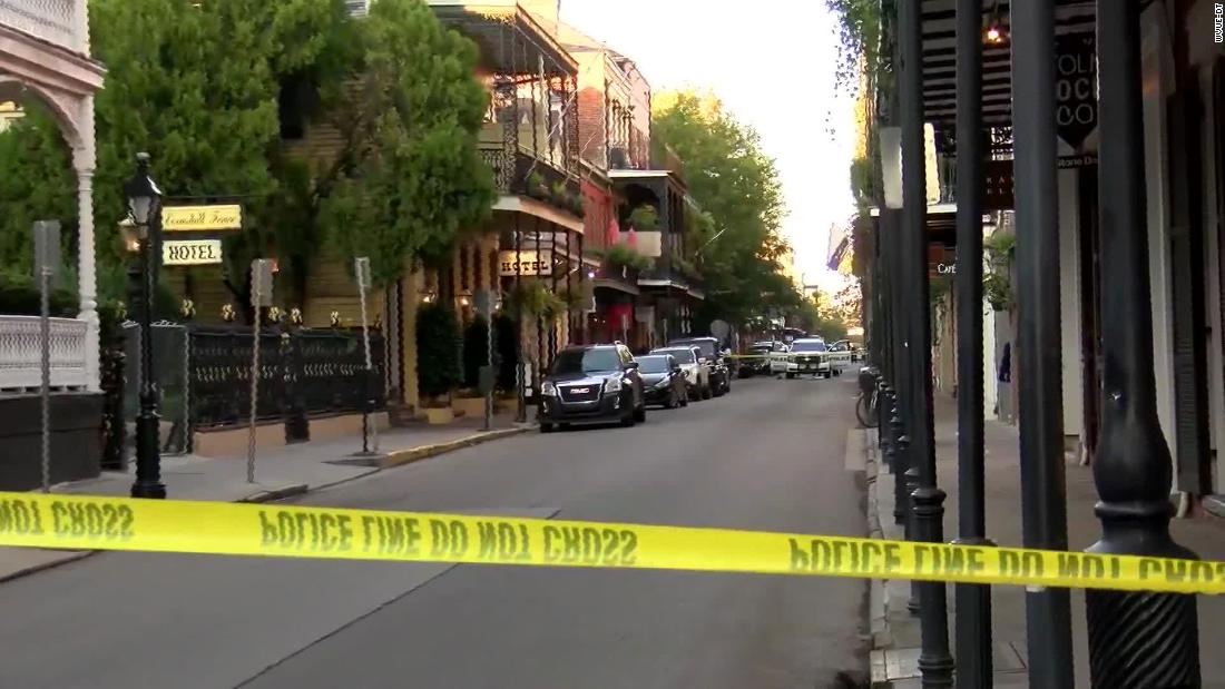 A New Orleans police officer on patrol in the French Quarter was shot in the face by a pedicab passenger superintendent says – CNN