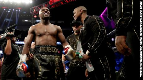 Floyd Mayweather's fight against Conor McGregor in 2017 generated more than $550 million in revenue.