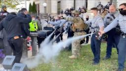North Carolina pepper spray lawsuits: Two lawsuits filed after police used pepper spray to break up march to a polling place