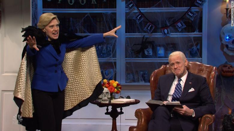 'SNL' has Jim Carrey's Joe Biden read a spooky Halloween story about the election
