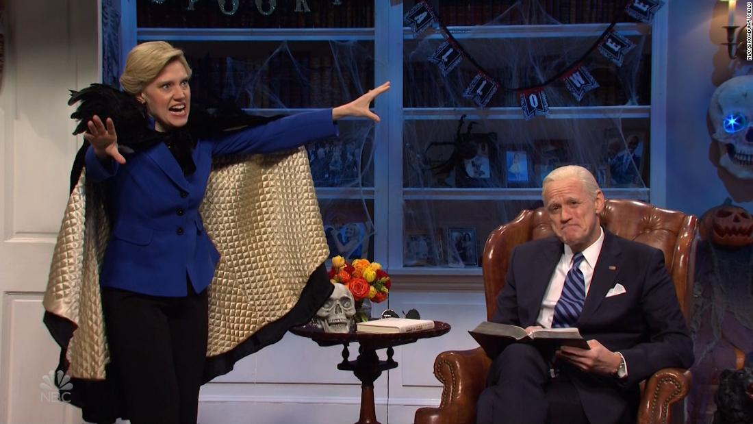 'SNL' features a scary tale for Biden
