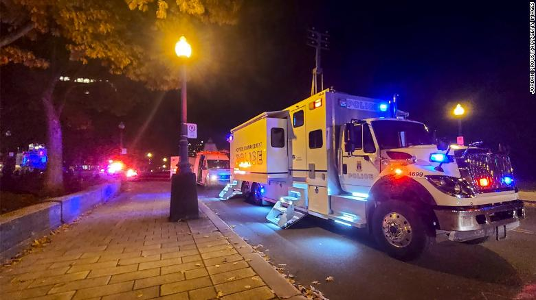 2 killed and 5 injured in stabbing attack in Quebec City, CBC News reports