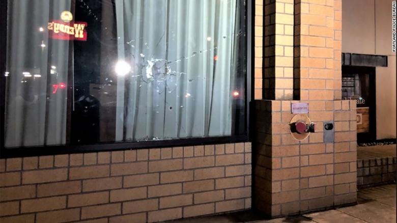 Portland Police Declare a Riot After People Break Windows Of Several Businesses